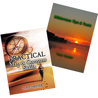 Receive two free Survival Tips books by Tony Nester.