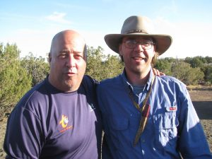 Keep an eye out for the April segment of the Travel Channel's popular show Bizarre Foods which has Tony taking host Andrew Zimmern out for a wild foods trek in the desert.