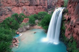 There will also be plenty of time for swimming in the stunning pools below the magnificent blue-green waterfalls of Havasupai.