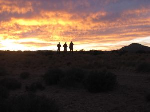 Experience the most amazing sunsets on your outdoor survivial Walkabout course.